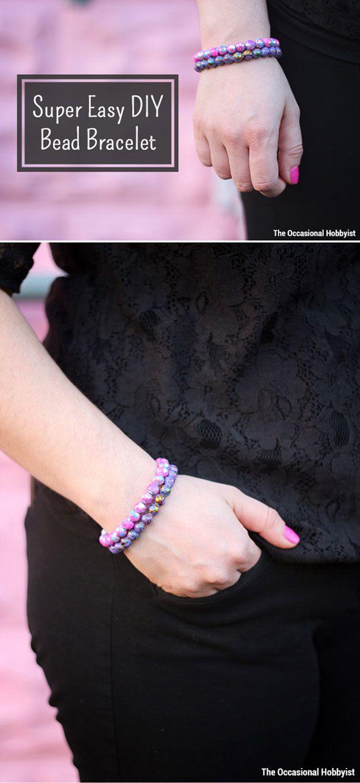 Barato y Fácil DIY pulsera a muchachas   http://artesaniasdebricolaje.ru/cheap-diy-jewelry-projects-for-girls/