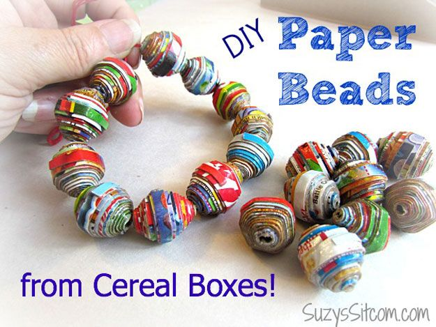 Ideas joyería barata y fácil de Arte de papel | http://artesaniasdebricolaje.ru/cheap-diy-jewelry-projects-for-girls/