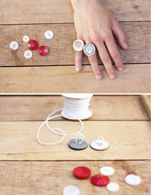 Joyas DIY barato y reutilizados | http://artesaniasdebricolaje.ru/cheap-diy-jewelry-projects-for-girls/