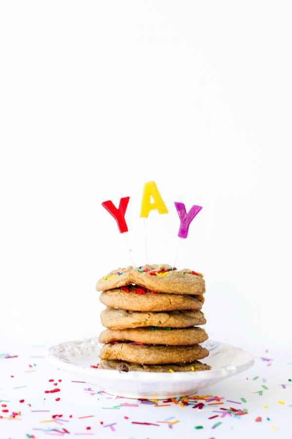 Galletas de Chocolate Pastel de cumpleaños