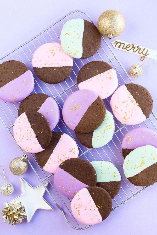 Color Sumergido Gingerbread cookies | artesaniasdebricolaje.ru