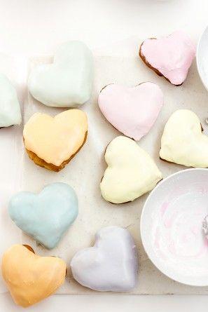 Conversación Corazón Donuts