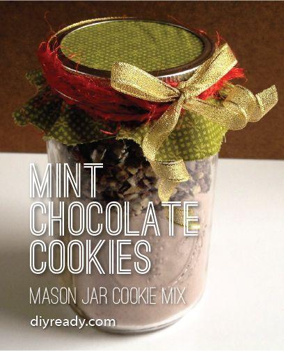 Fotografía - Cookies mezcla en un tarro: Mint Chocolate Chip Cookies