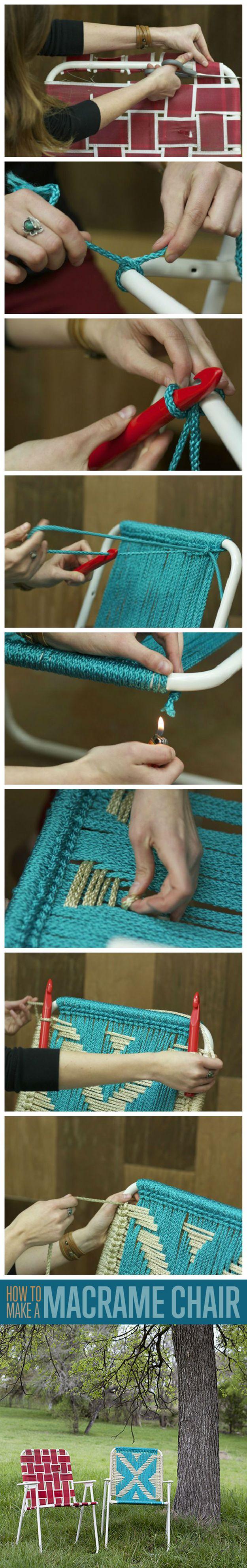Ideas para sillas DIY Backyard muebles de jardín | artesaniasdebricolaje.ru/diy-projects-backyard-furniture/
