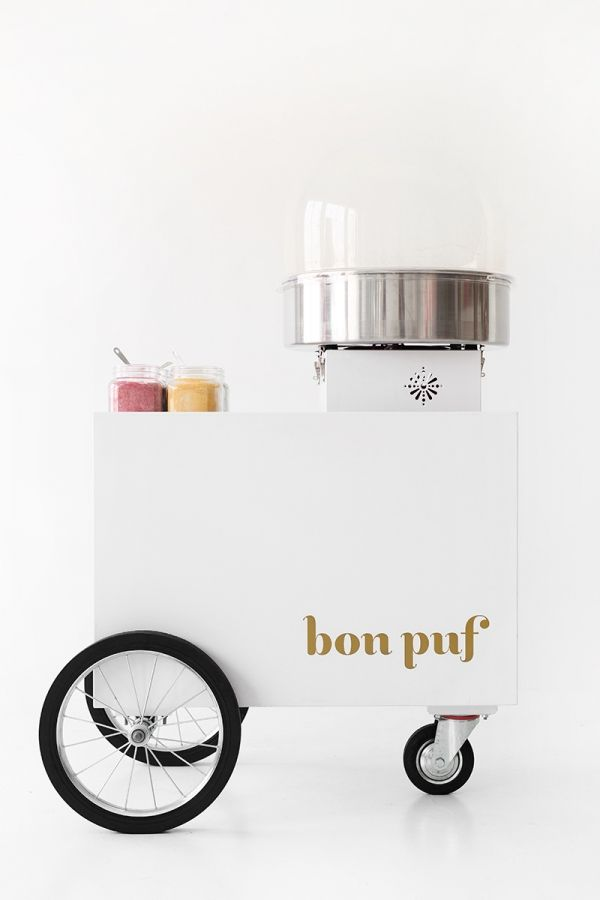 Bon Puf Cotton Candy Cesta