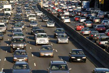 La tarifa de congestión ayuda a evitar ralentizaciones horas punta como que la foto de arriba.