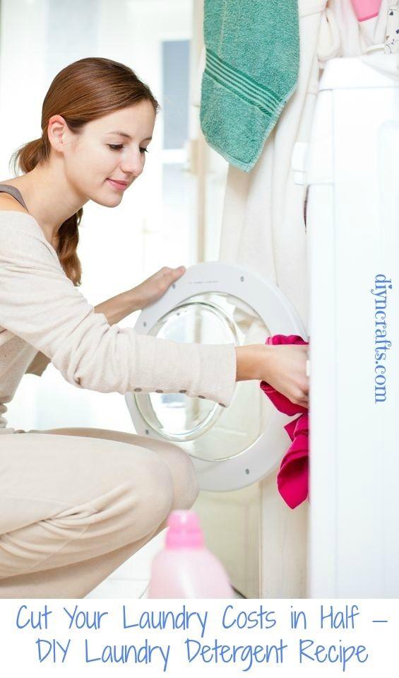 Reducir sus costos de lavandería en Half - DIY Detergente Receta