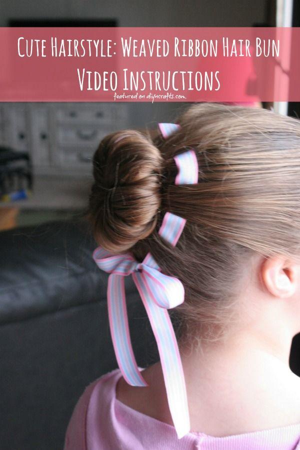 Lindo Peinado: Tejido Cinta Moño - Instrucciones de Vídeo