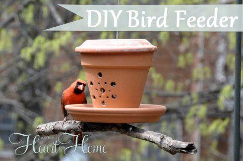 Decora tu aire libre con este Birdfeeder DIY Fácil y adorable