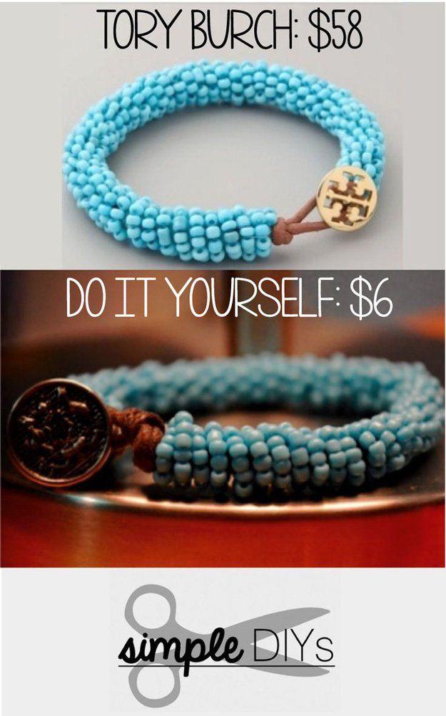 Simple DIY pulsera moldeada Tutorial | http: //artesaniasdebricolaje.ru/diy-beaded-bracelets-you-should-be-making/