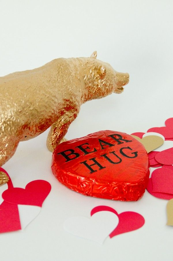 DIY Abrazo de oso de San Valentín
