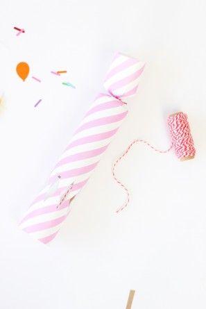 DIY cumpleaños Confeti Poppers