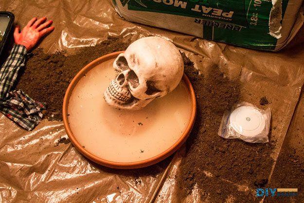 Cubierta pantano de Halloween | Bricolaje Decoración de Halloween