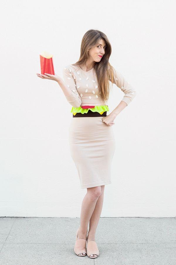 Fotografía - DIY hamburguesa de vestuario