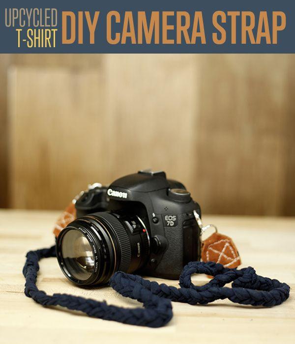 Fotografía - Correa de la cámara DIY | Ropa upcycled