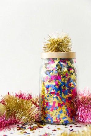 DIY Sorpresa Confeti Tarros