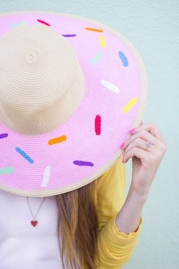 DIY Donut Floppy Sombrero