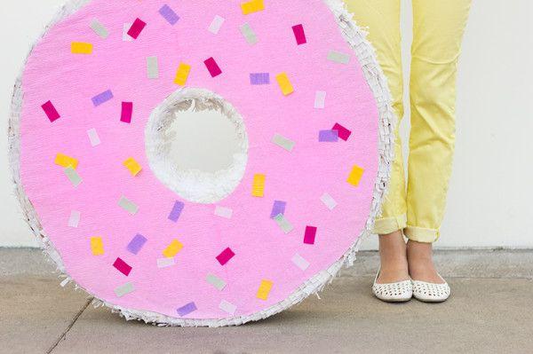 Donut Piñata DIY