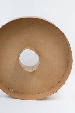 DIY gigante Donut Piñata Tutorial