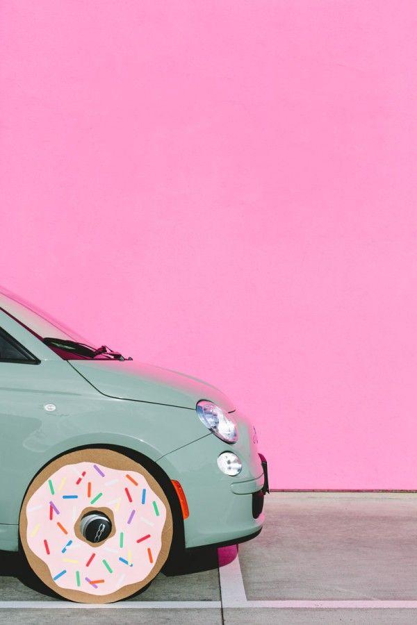 A Car Donut!