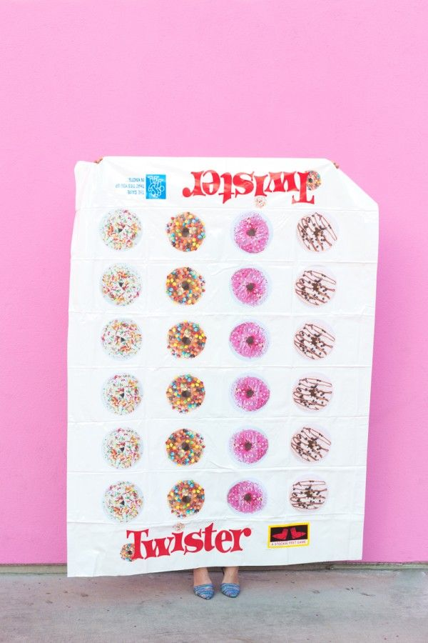 DIY Donut Twister