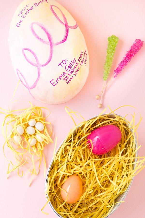 DIY del huevo de Pascua-Gram