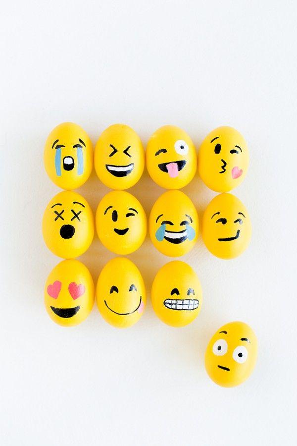 DIY Emoji Huevos de Pascua