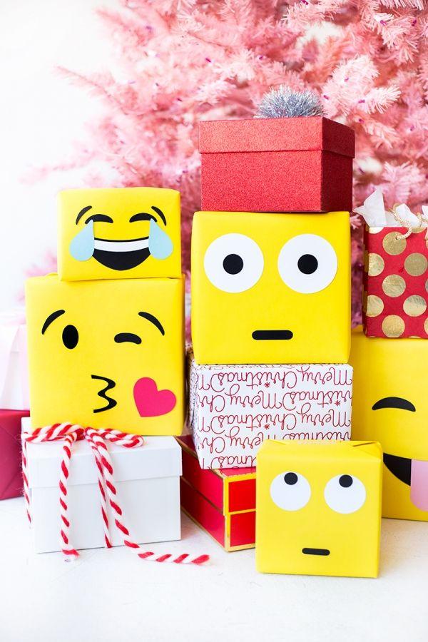 Fotografía - DIY Emoji papel de regalo