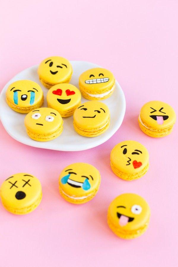 Fotografía - Bricolaje Emoji Macarons