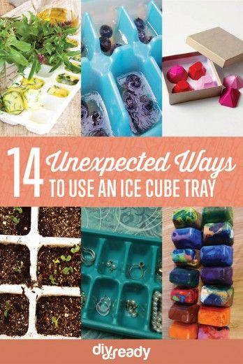 14 maneras inesperadas para utilizar una bandeja de cubitos de hielo |