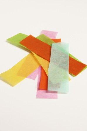 -picks alimentos tejido-papel-