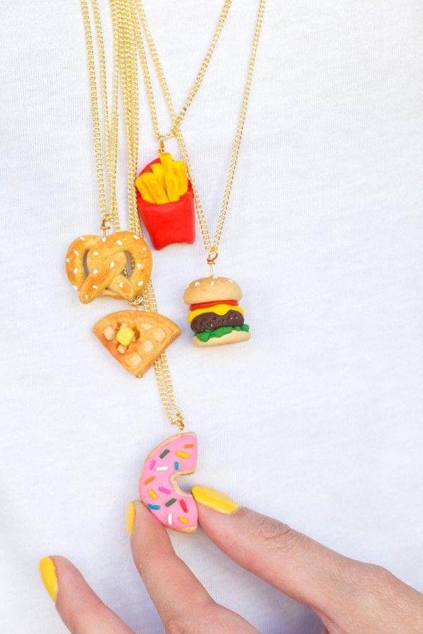 DIY Foodie Amistad Collares