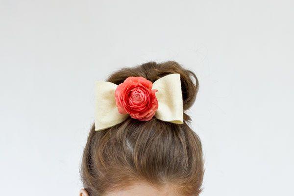 DIY flor fresca Bow Tutorial