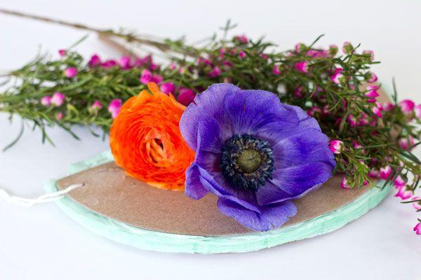 Partido de la flor fresca decoración