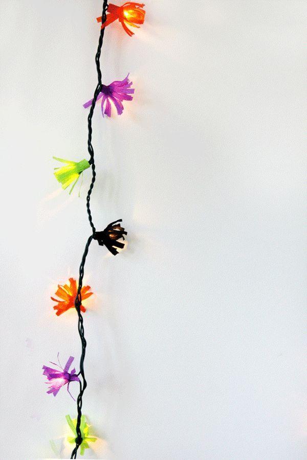 Bricolaje Fringe Luces de Cuerda