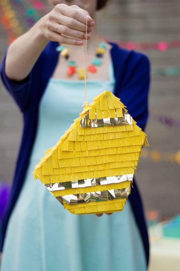 Piñata geométrica DIY