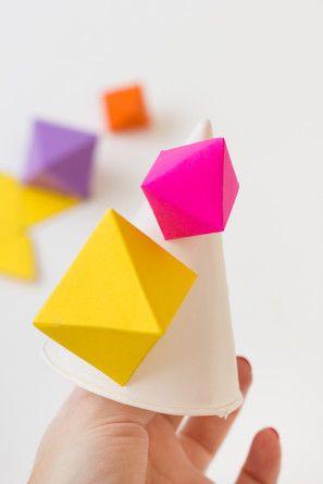Cómo hacer una Parte geométrica Sombrero
