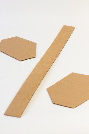 Fácil geométrica Piñatas