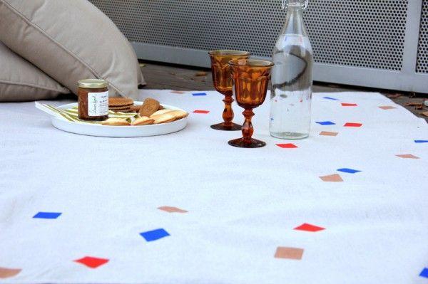 DIY Manta de picnic