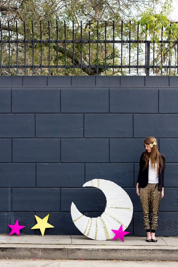 DIY gigantes Luna Piñata
