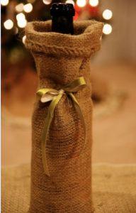 Fotografía - DIY Bolsas de regalo para botellas