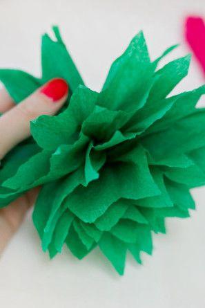 Pinata flores de papel