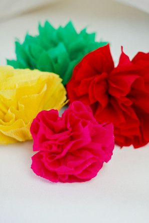 DIY Papel Flores
