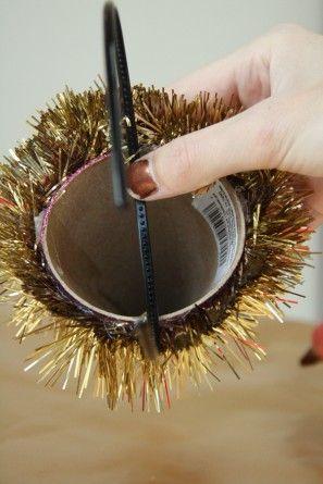 Bricolaje Sombreros Glitter Party para Navidad