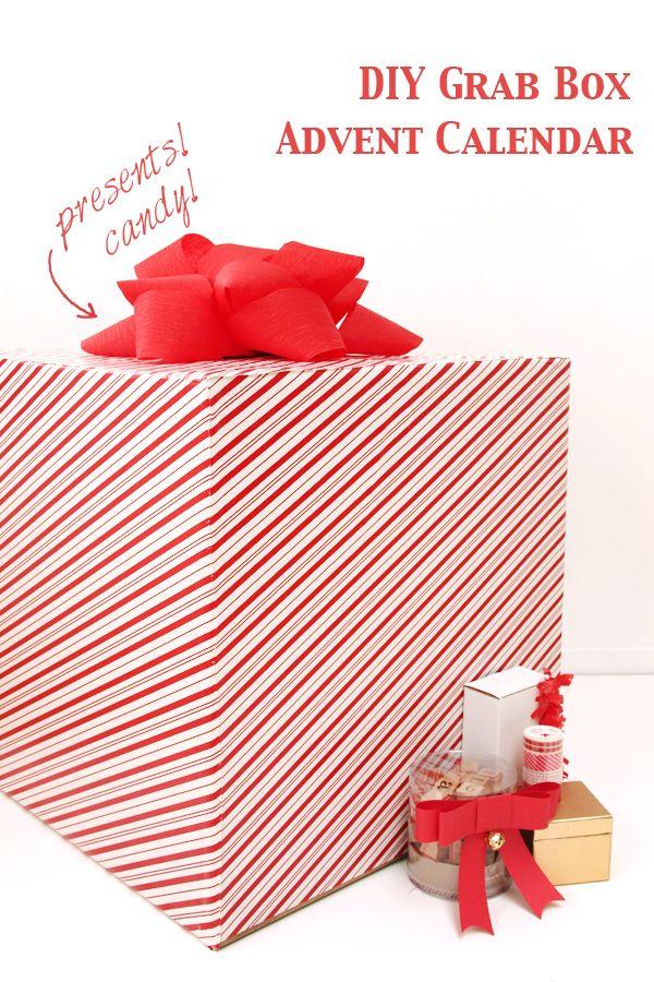 DIY Grab Box Calendario de Adviento