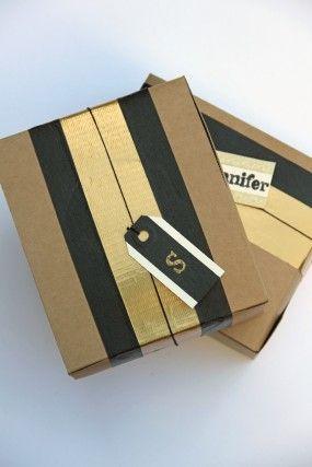 DIY-cinta de papel de regalo