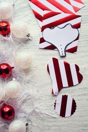 Bricolaje vacaciones flores de papel para Embalaje de regalo por los diseños de la formación de hielo | Estudio DIY (9)