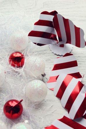Bricolaje vacaciones flores de papel para Embalaje de regalo por los diseños de la formación de hielo | Estudio DIY (8)