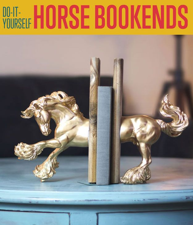 Fotografía - DIY caballo Sujetalibros | Frescos Sujetalibros