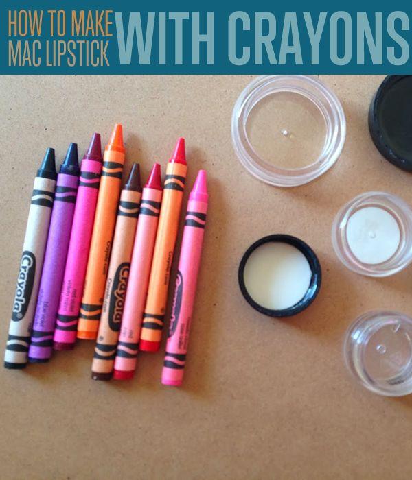 Fotografía - DIY | Cómo hacer MAC Lipstick colores con lápices de colores